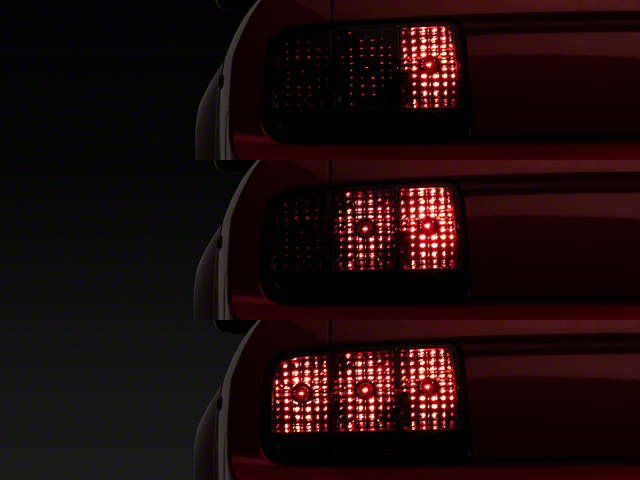 Sequential Tail Lights; Smoked (05-09 All)