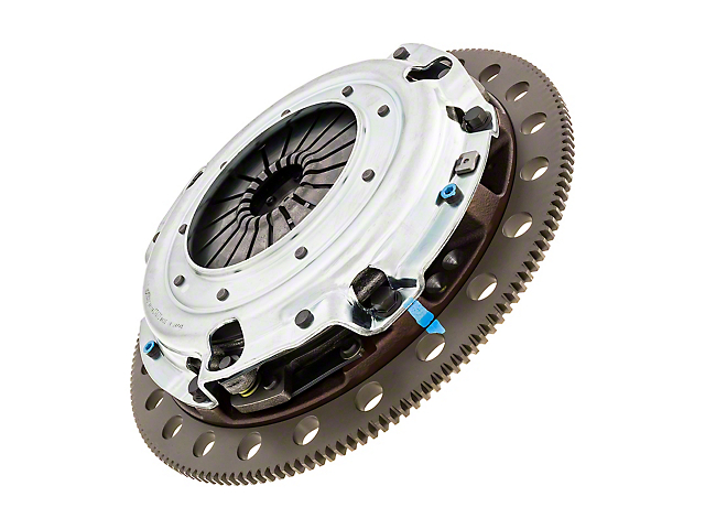 Exedy Stage 4 Twin Disc Organic Clutch Kit with 8-Bolt Flywheel; 10 Spline (96-10 4.6L)