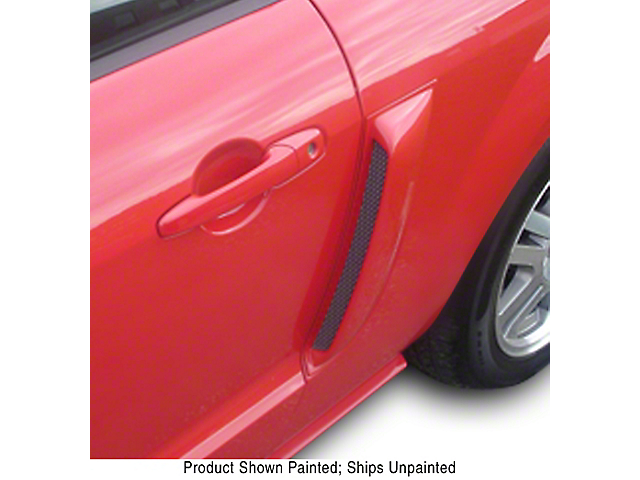 ABS Side Scoops; Unpainted (05-09 All)