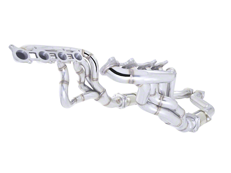 X-Force 1-7/8 x 3-Inch Long Tube Headers with High Flow Metallic Catalytic Converters (15-17 GT)