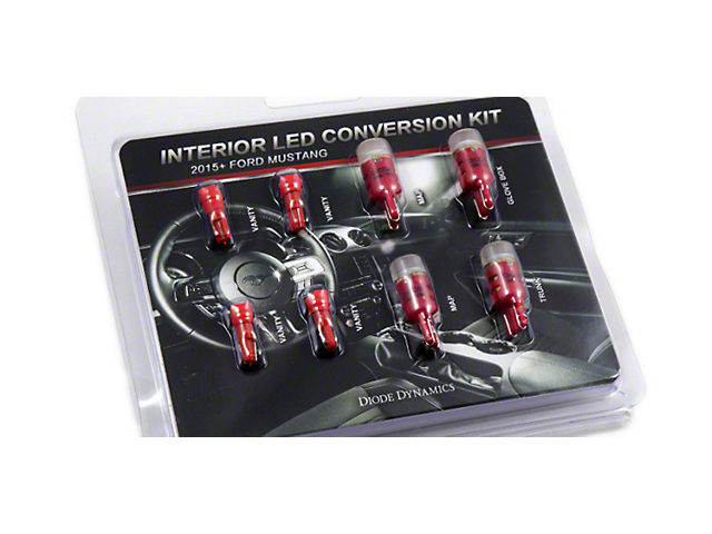 Diode Dynamics Stage 2 LED Interior Lighting Kit; Red (15-17 All)