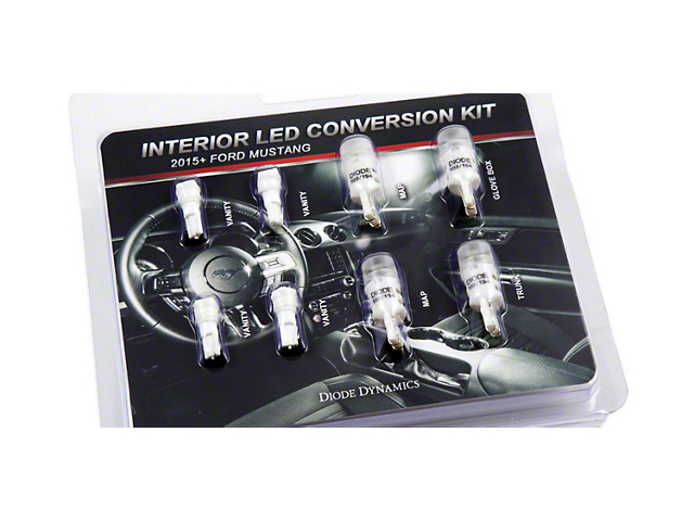 Diode Dynamics Stage 1 LED Interior Lighting Kit; Cool White (15-17 All)