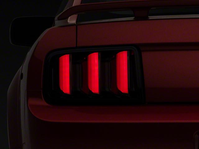 Raxiom Vector V2 LED Tail Lights; Smoked (05-09 All)