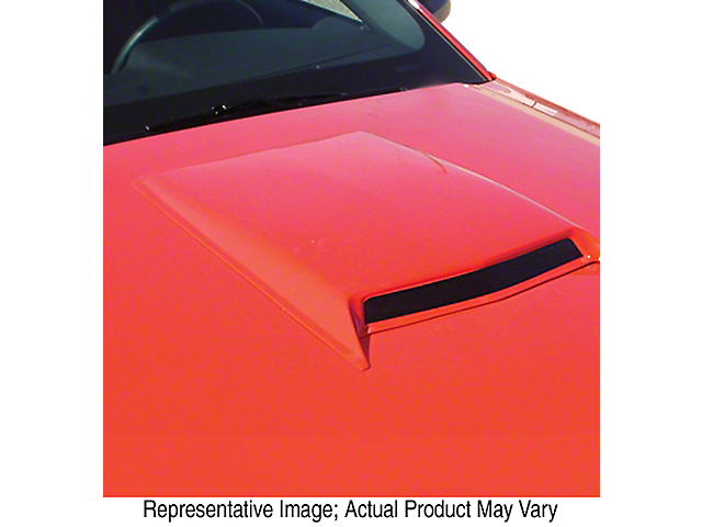 ABS Medium Hood Scoop; Pre-Painted (08-21 All)