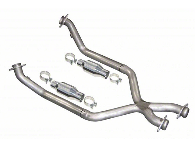 Pypes Catted X-Pipe (79-95 5.0L)