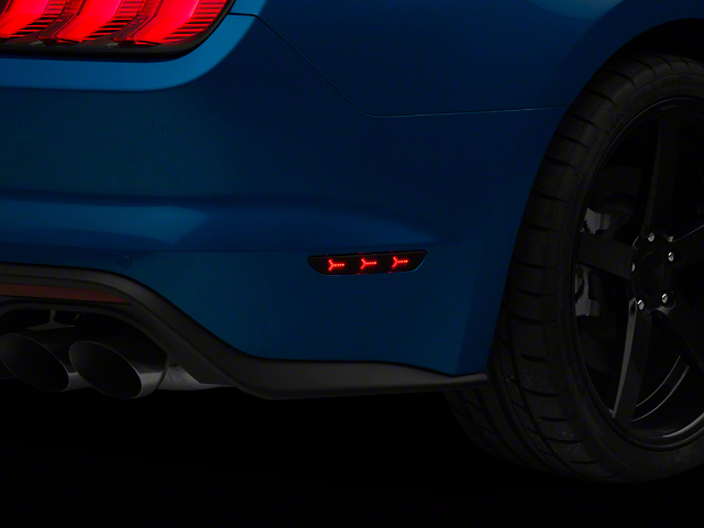 MP Concepts LED Rear Side Markers; Smoked (18-20 All)