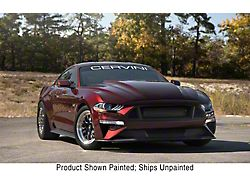 Cervini's Cobra R Style Hood; Unpainted (18-21 GT, EcoBoost)