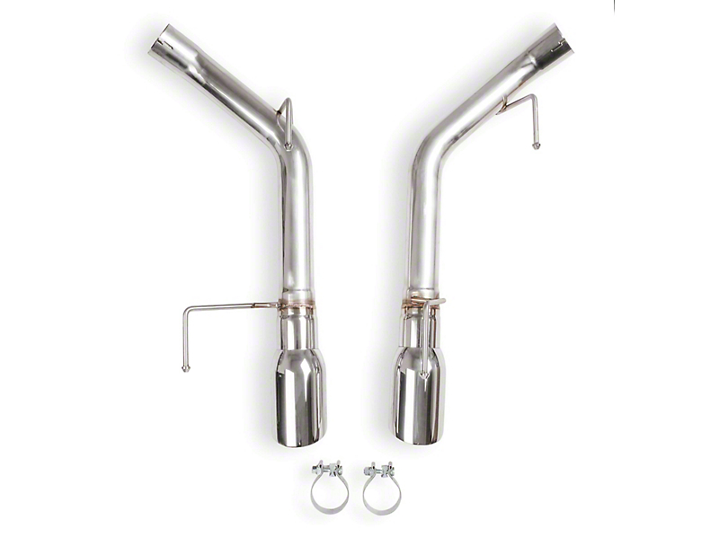 Flowtech Muffler Delete Axle-Back Exhaust with Polished Tips (05-10 GT, GT500)
