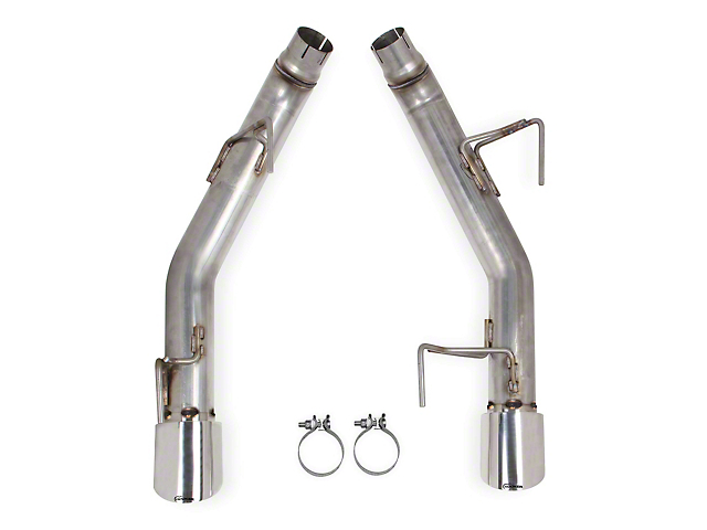 Hooker BlackHeart Muffler Delete Axle-Back Exhaust with Polished Tips (05-09 GT)