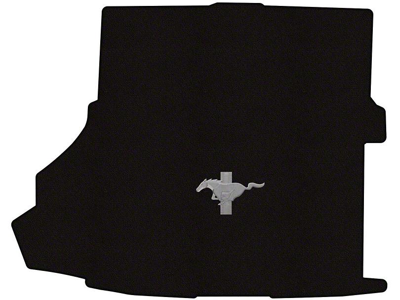 Lloyd Trunk Mat with Tri-Bar Pony Logo; Black (15-20 All)