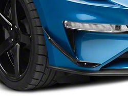 APR Performance Front Bumper Canards; Carbon Fiber (18-21 GT, EcoBoost)