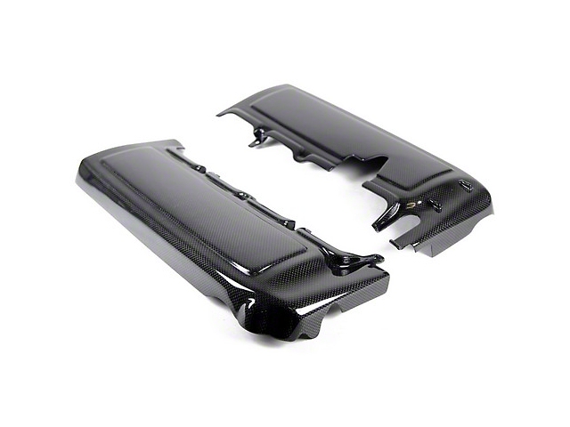 APR Performance Fuel Rail Covers; Carbon Fiber (05-10 GT)
