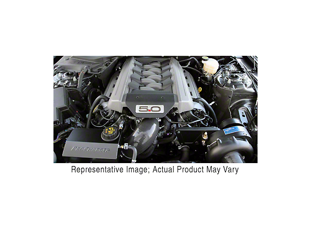 Procharger High Output Intercooled Supercharger Kit; Black Finish (15-17 GT)
