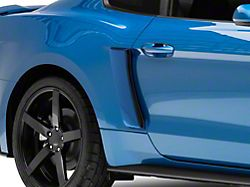 Roush Quarter Panel Side Scoops; Pre-Painted (15-21 All)