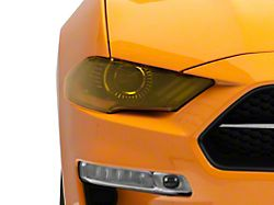 Headlight Covers; Transparent Yellow (18-20 GT, EcoBoost)