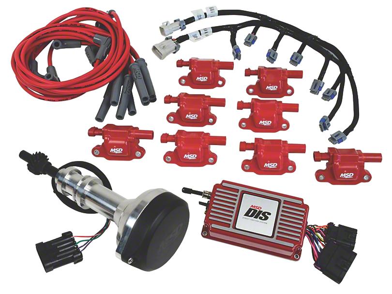 MSD Ignition Conversion Kit; Red (1995 Cobra R)