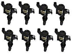 Accel SuperCoil Ignition Coils; Black; 8-Pack (05-08 GT)
