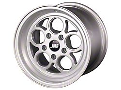 JMS Savage Series Silver Clear with Diamond Cut Wheel; Front Only; 17x4.5 (11-21 All, Excluding AWD & Hellcat)