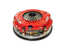 McLeod RST Twin Disc 800HP Organic Clutch Kit with 8-Bolt Steel Flywheel; 23 Spline (11-17 GT; 12-13 BOSS 302)