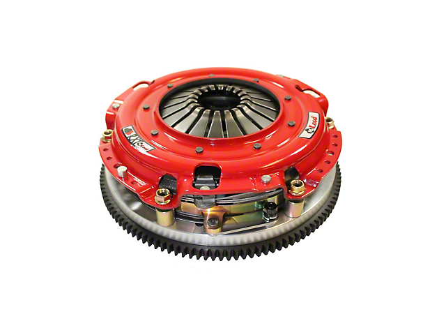 McLeod RST Twin Disc 800HP Organic Clutch Kit with 8-Bolt Aluminum Flywheel; 26 Spline (96-10 GT, Cobra, Mach 1; 07-09 GT500)