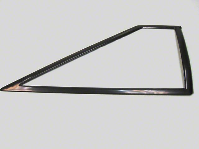 Quarter Window Molding; Passenger Side (87-93 Hatchback)