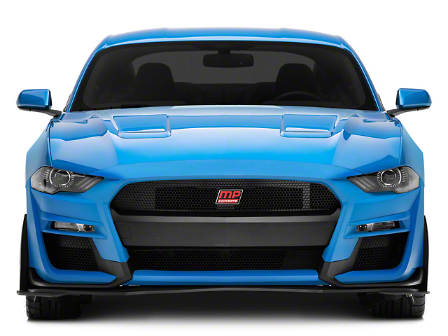 MP Concepts GT500 Style Front Bumper; Unpainted (18-21 GT, EcoBoost)