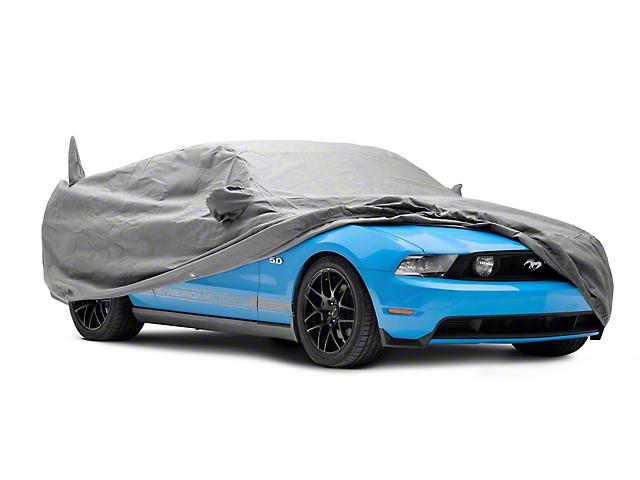 Custom Fit Car Cover; Gray (05-14 All)