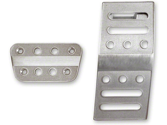 Scott Drake Billet Aluminum Pedal Covers (05-21 w/ Automatic Transmission)