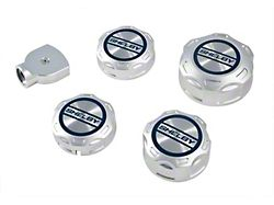 Scott Drake Engine Cap Inserts with Shelby Logo (18-21 GT, EcoBoost)