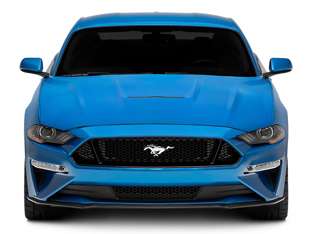 MP Concepts Aluminum GT350 Style Hood; Unpainted (18-21 GT, EcoBoost)