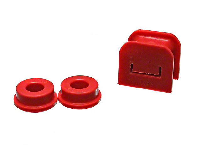 Manual Transmission Shifter Bushing; Red (05-10 All)
