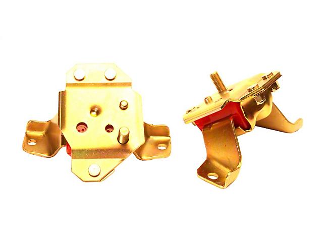 Motor Mounts; Red (84-95 5.0L)