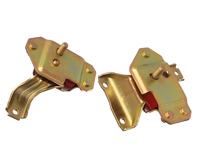 Motor Mounts; Red (96-04 4.6L)