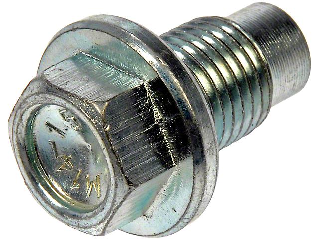Oil Drain Plug (79-94 2.3L, 3.3L, 3.8L; 90-95 5.0L; 96-04 4.6L; 05-10 All; 11-12 GT500)