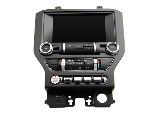 Infotainment 4 to 8-Inch Sync 3 Touchscreen Upgrade with GPS Navigation (15-18 GT, EcoBoost, V6)
