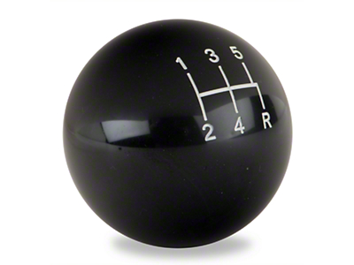 Modern Billet Retro Style 5-Speed Shift Knob - Black (79-04 All, Excluding 03-04 Cobra)
