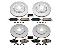Power Stop Z17 Evolution Plus Brake Rotor and Pad Kit; Front and Rear (11-14 Standard GT)