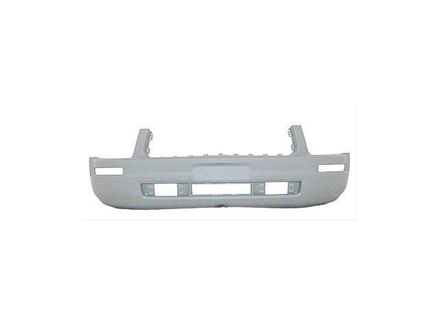 Front Bumper Cover; Unpainted; Replacement Part (05-09 V6)