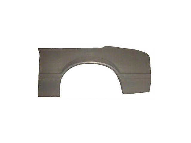 Quarter Panel Skin; Driver Side (79-93 Hatchback)