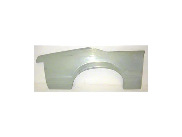 Quarter Panel Skin; Passenger Side (83-93 Convertible)