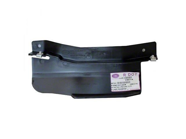Fender Splash Shield; Passenger Side; CAPA Certified Replacement Part (18-21 GT, EcoBoost)