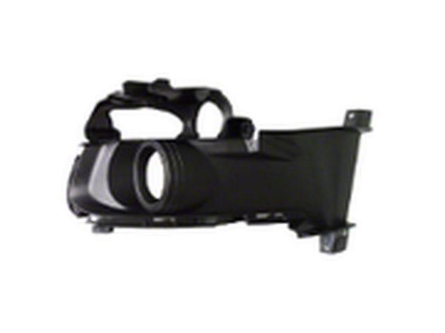 Fog Light Bezel; Driver Side (15-17 GT, EcoBoost)