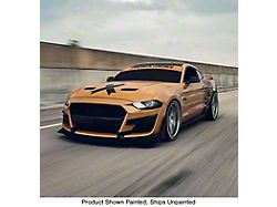 777 Performance GT500 Style Front Fascia; Unpainted (18-21 GT, EcoBoost)