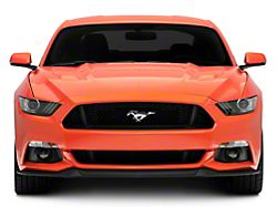 Ford Front Bumper Cover; Unpainted (15-17 GT, EcoBoost, V6)