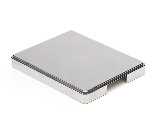 SpeedForm Aluminum Fuse Box Cover; Polished (98-04 All)
