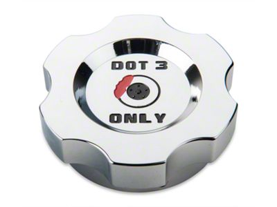 Modern Billet Chrome Brake Fluid Cap Cover (05-14 GT