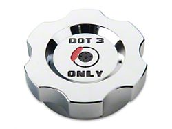 Modern Billet Chrome Brake Fluid Cap Cover (05-14 All, Excluding 13-14 GT500)
