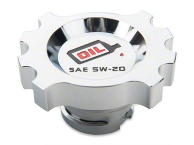 Modern Billet Chrome Oil Cap (05-17 GT, V6)