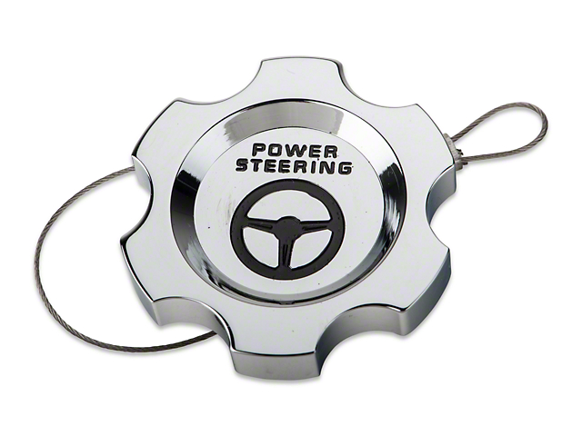 Modern Billet Chrome Power Steering Cap (05-10 All)