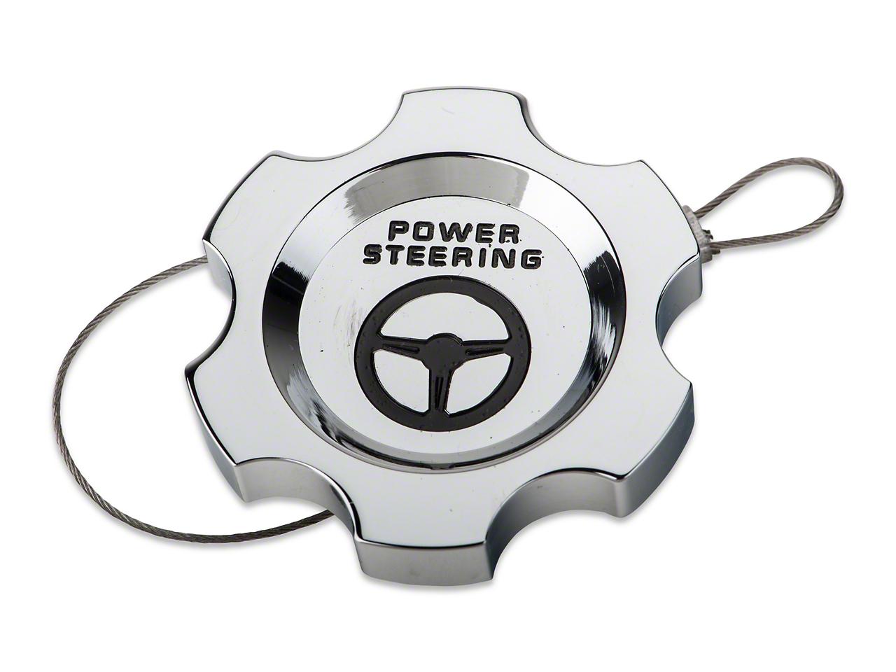Modern Billet Chrome Power Steering Cap (05-10 All)